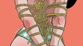 Sumisas Amarradas y Esposadas en Ilustraciones