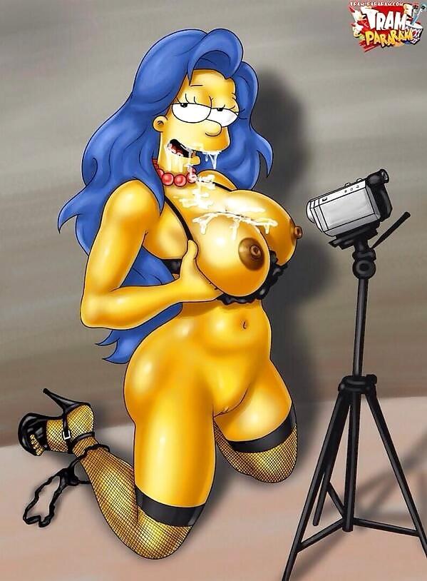 Marge la Modelo de webcam de los simpson