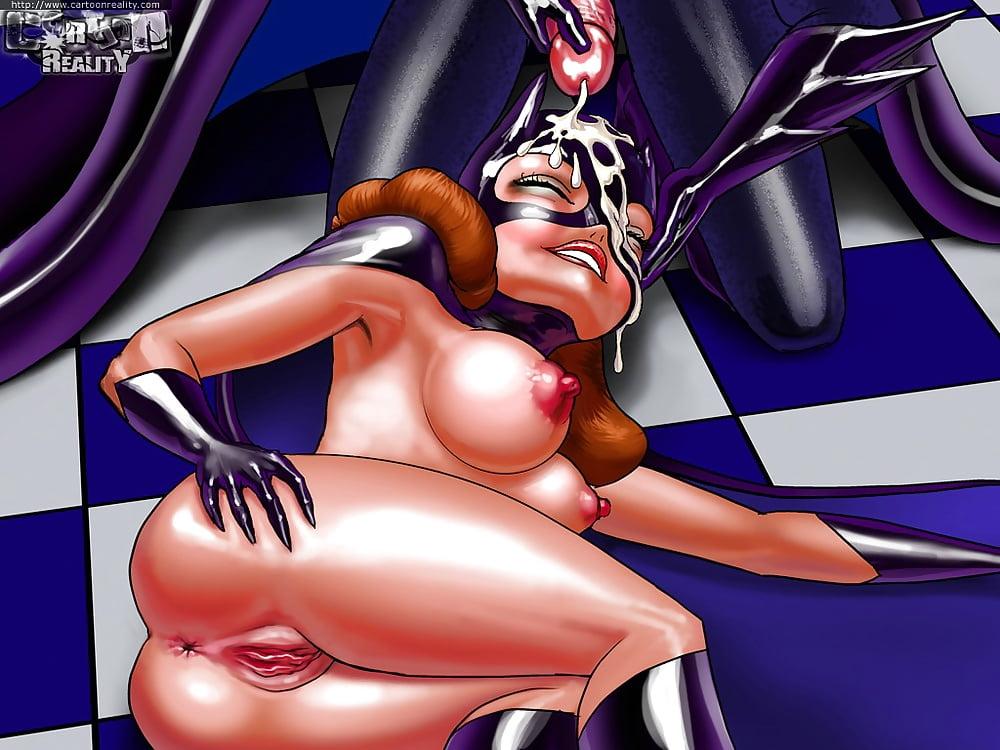 Batman comics porno