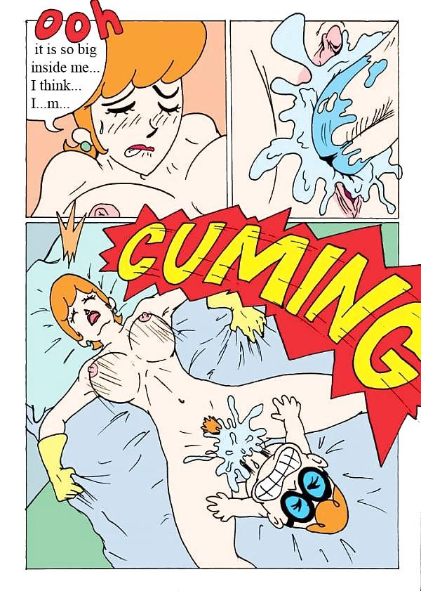 El laboratorio de Dexter comics porno