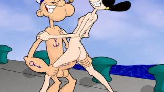 Popeye Comic Porno Hentai.