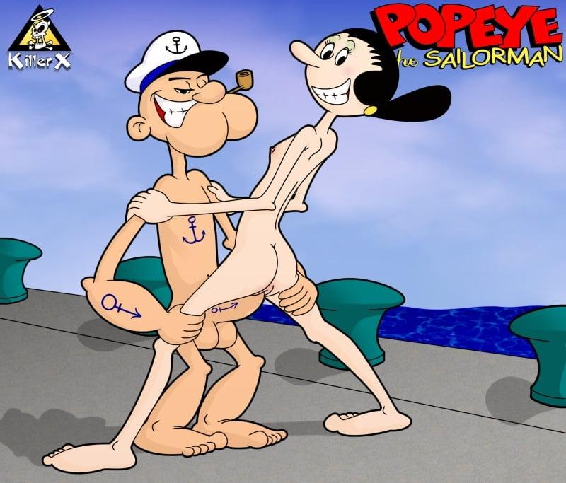 Popeye hentai