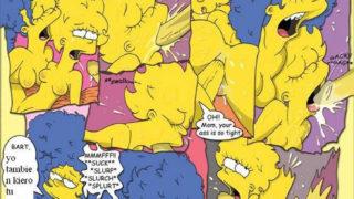 Los simpson xxx Comics Porno Marge Simpson.