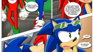 Comic Porno de Sonic.