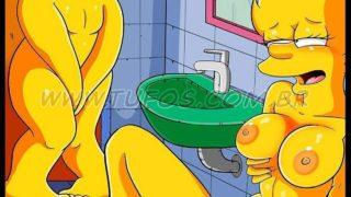 Fútbol y Cervezas Parte 2- Porno de Los Simpson