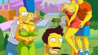 Los Simpson XXX Presenta: La Aventura de darren Parte 1.