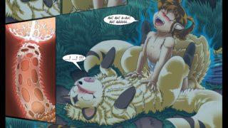 Inuyasha Manga- shippo Sexo Con Mi Zorrita (Porno Parodia Zoo).